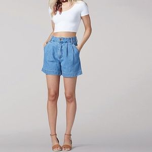 "Vintage GAP High Rise Pleat Front ""Mom"" Shorts"